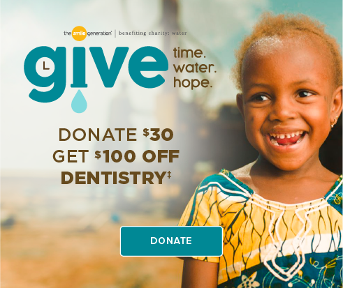 Donate $30, Get $100 Off Dentistry - Cypress Crossroads Dental Group