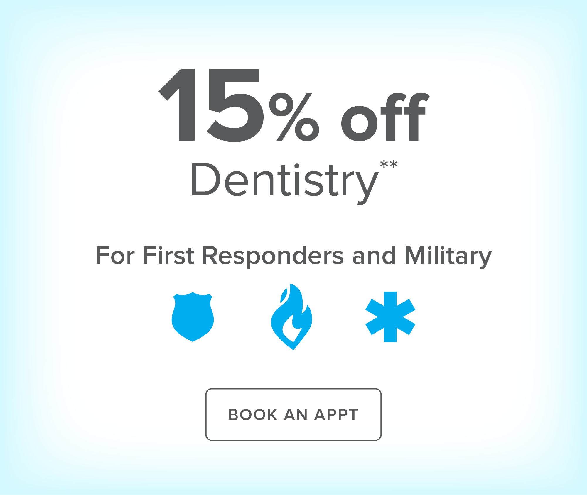 Cypress Crossroads Dental Group - 15% off Dentistry for First Responders and Military